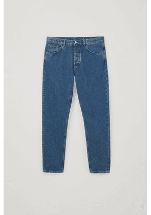 REGULAR FIT RECYCLED COTTON JEANS