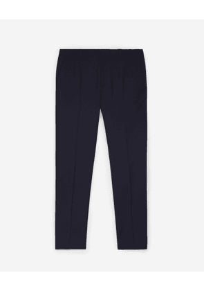 The Kooples - Patterned navy blue dinner trousers - MEN