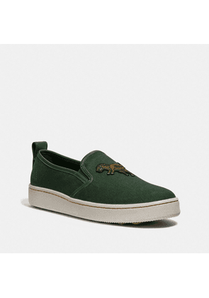 C115 Slip On in Green - Size 12 D