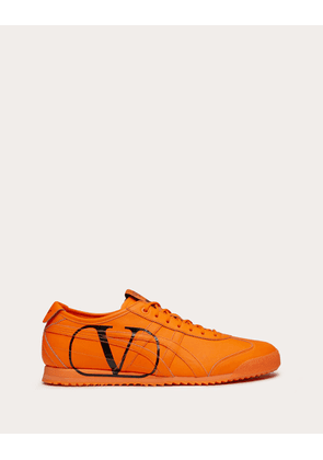 Valentino Garavani Uomo Onitsuka Tiger Collaboration Sneaker Man Florescent Orange 100% Pelle Di Vitello - Bos Taurus 6