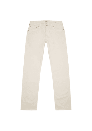 Citizens Of Humanity Bowery Off-white Slim-leg Chinos
