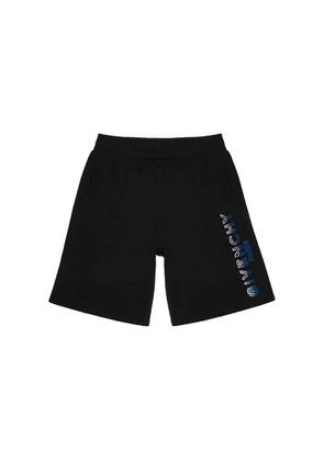 Givenchy Black Cotton-jersey Shorts
