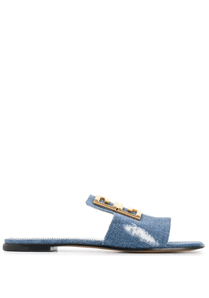 Givenchy 4G flat sandals - Blue