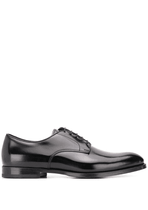 Doucal's Monzu high-shine derby shoes - Black