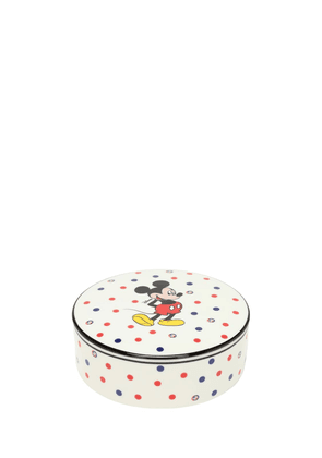 Mickey Mouse Round Porcelain Box
