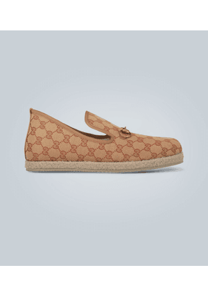 GG canvas loafer