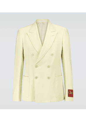 Exclusive to Mytheresa - linen and cotton blazer