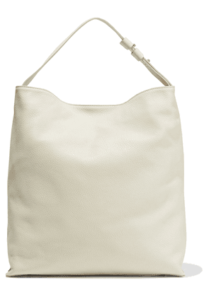 Iris & Ink Jiyoun Pebbled-leather Shoulder Bag Woman Off-white Size --