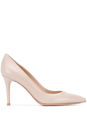 Gianvito Rossi 85mm pointed pumps - Neutrals