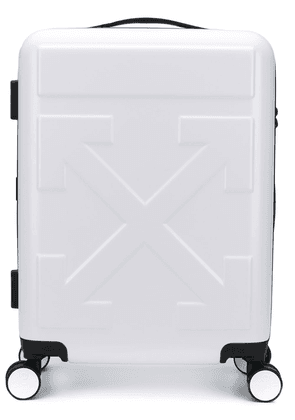Off-White Quote four-wheel suitcase
