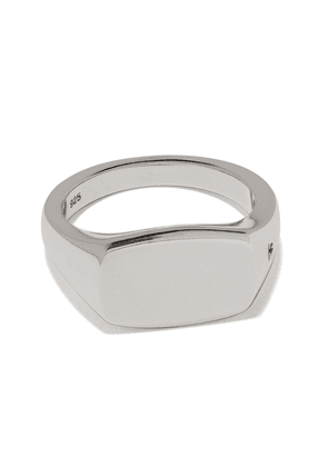 Tom Wood Michael engraved detail ring - SILVER