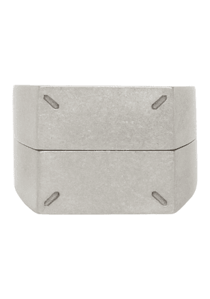 Maison Margiela Silver Dual Stackable Rings