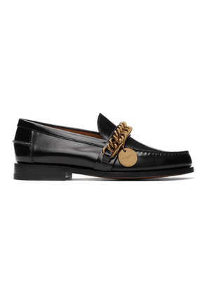 Givenchy Black Chain Loafers