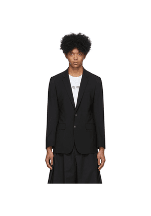Kenzo Black Formal Slim Blazer