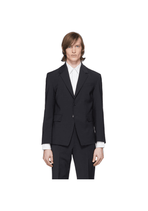 Deveaux New York Navy Suit Blazer