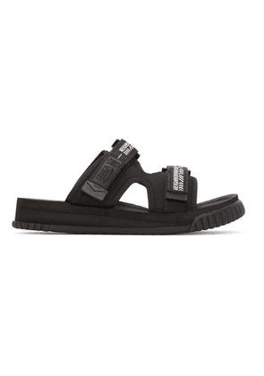 Neighborhood Black SHAKA Edition Chill Out Sandals