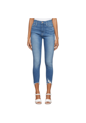 Frame Blue Ali High-Rise Cigarette Jeans