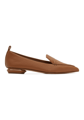 Nicholas Kirkwood Brown Beya Loafers