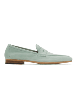 Paul Smith Blue Nubuck Glynn Loafers