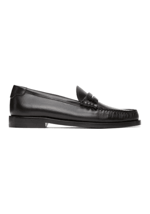 Saint Laurent Black Pierre Loafers
