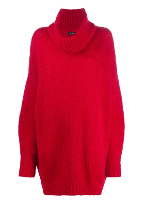 Isabel Marant slouchy roll-neck jumper - Red