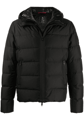 Fay hooded puffer jacket - Black