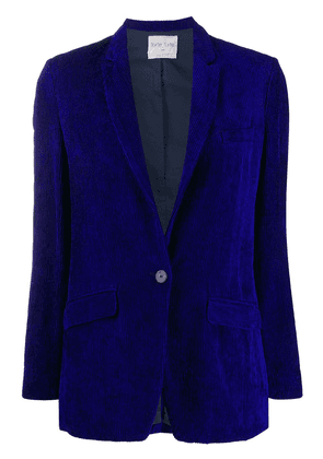 Forte Forte single-breasted fitted blazer - Blue