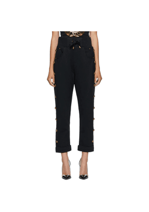 Balmain Black Boyfriend Lounge Pants