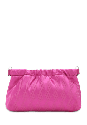 The Attico Fluid Jacquard Clutch