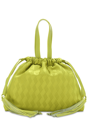 The Attico Fluid Jacquard Top Handle Bag