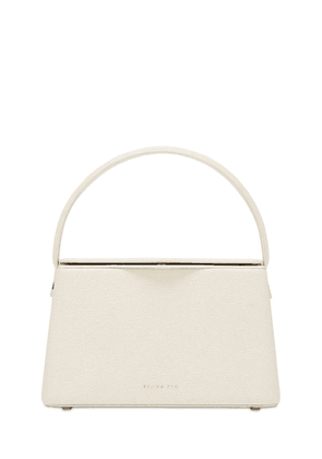 Felix Small Leather Top Handle Bag