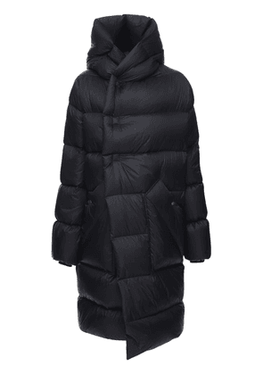 Oversize Nylon Puff Down Coat