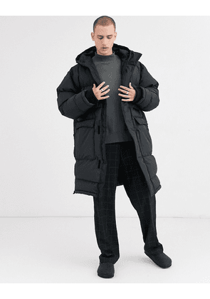 Weekday Jay puffer parka in black
