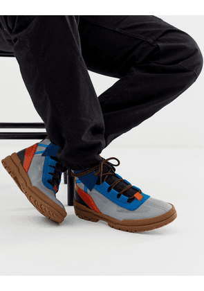 ASOS DESIGN hiker trainers with contrast panel detailing-Multi