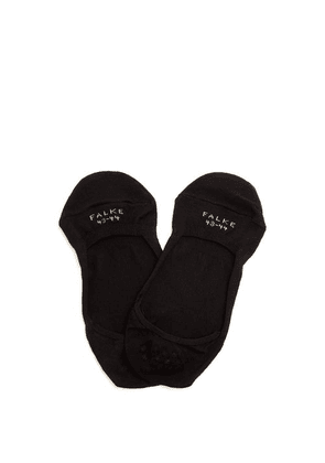 Falke - Cool 24/7 Invisible Cotton-blend Liner Socks - Mens - Black
