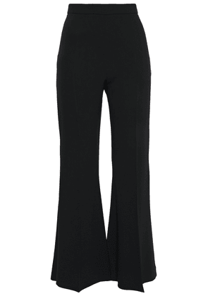 Antonio Berardi Satin-crepe Flared Pants Woman Black Size 44