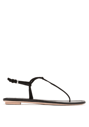 Prada thong strap sandals - Black