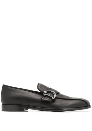 Dolce & Gabbana D buckle loafers - Black