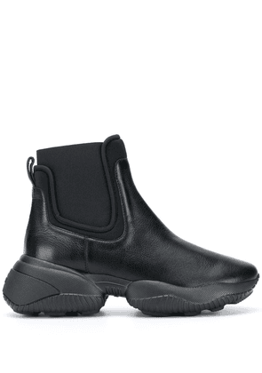 Hogan chunky sole ankle boots - Black