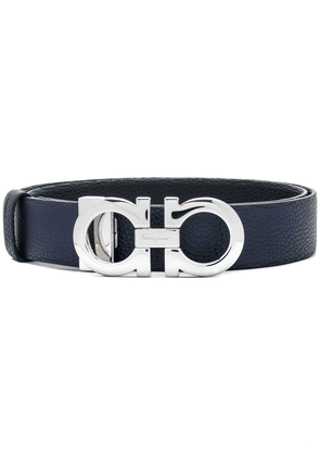 Salvatore Ferragamo logo buckle belt - Blue