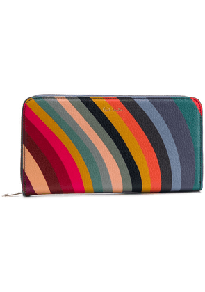 Paul Smith all-around zipped wallet - Blue