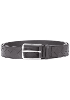 Bottega Veneta Intrecciato belt - Brown