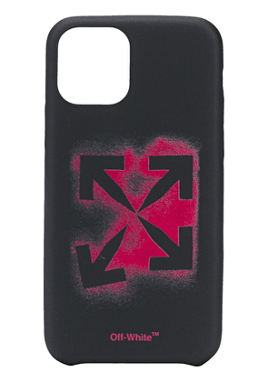 Off-White spray painted iPhone 11 procase - Black