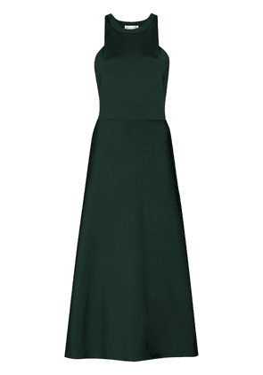 Victoria Beckham racerback midi dress - Green