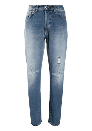 Dondup high-waisted tapered jeans - Blue