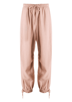 See by Chloé drawstring-cuff trousers - NEUTRALS