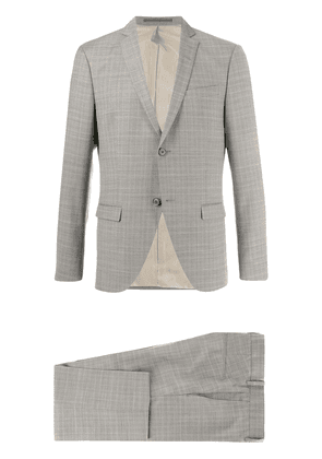 Tiger of Sweden check twill two-piece suit - Grey