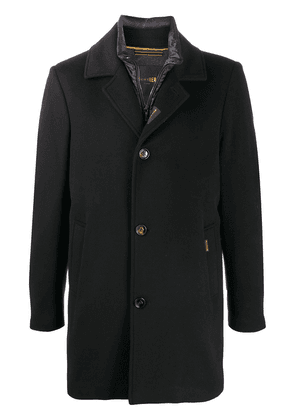 Moorer tailored single-breasted coat - Blue
