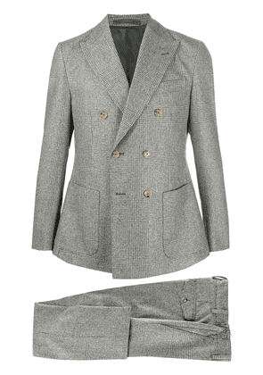 Eleventy Prince of Wales check suit - Grey