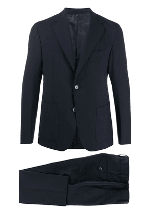 Eleventy single-breasted two-piece suit - Blue